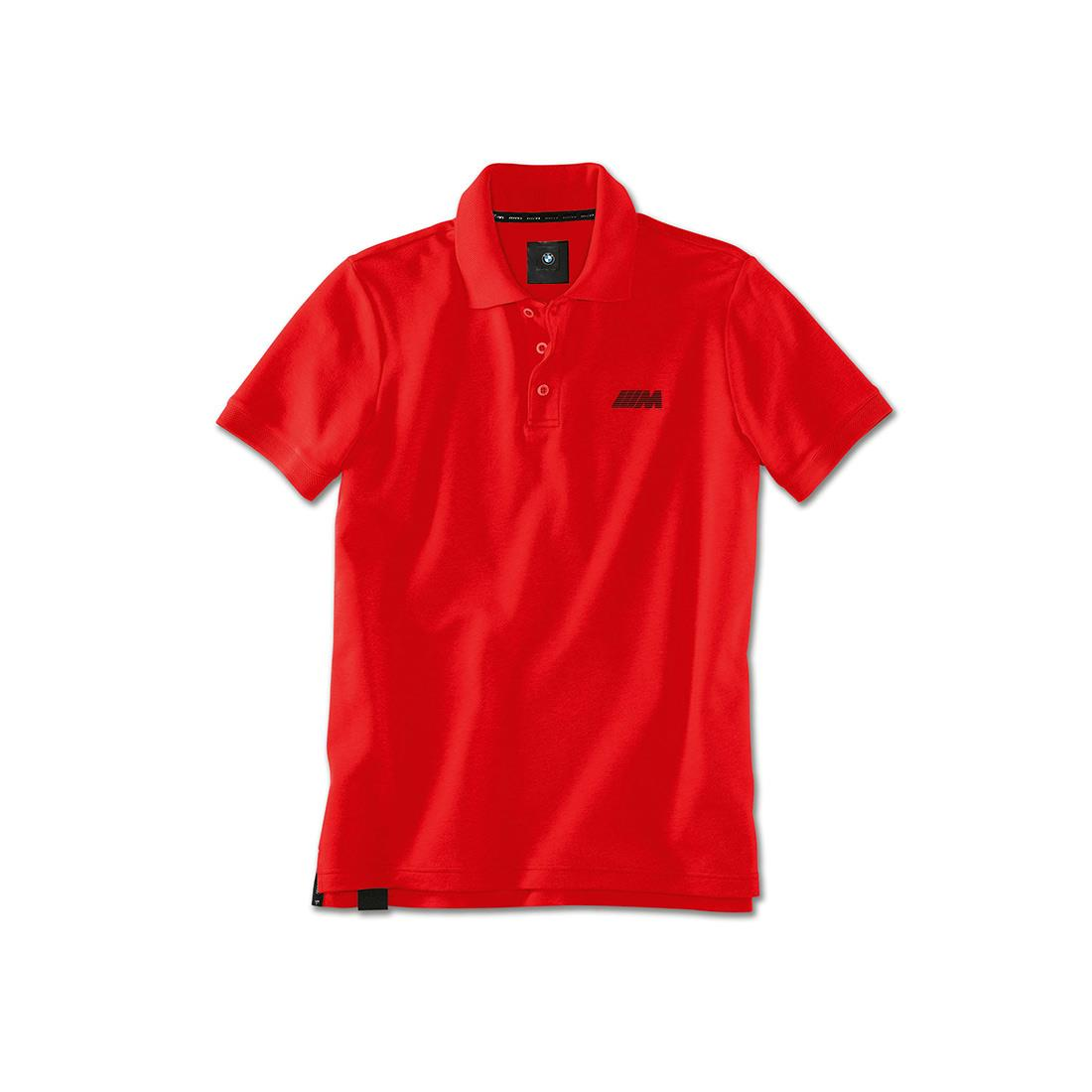 BMW M MENS POLO SHIRT - RED