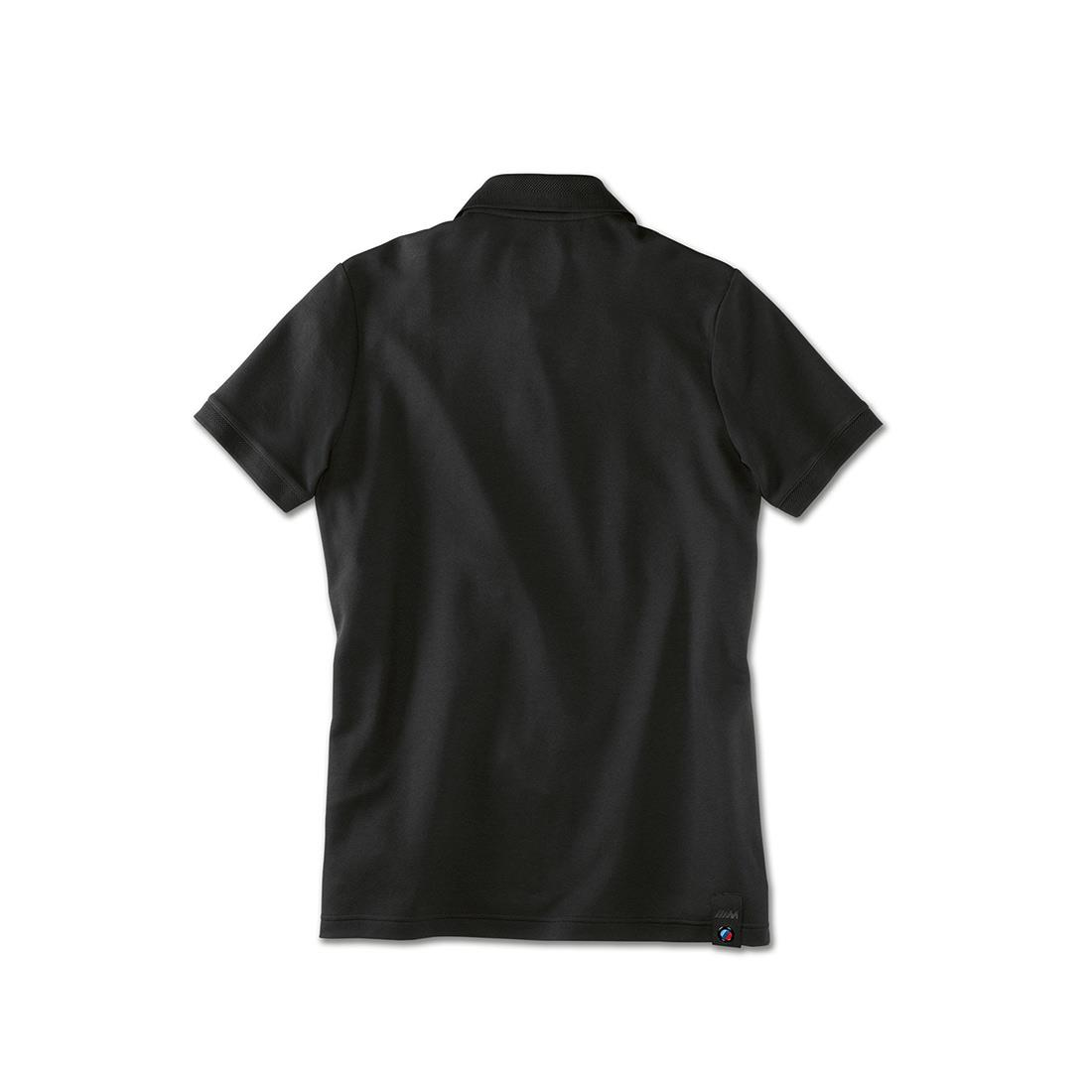 BMW M MENS POLO SHIRT - BLACK
