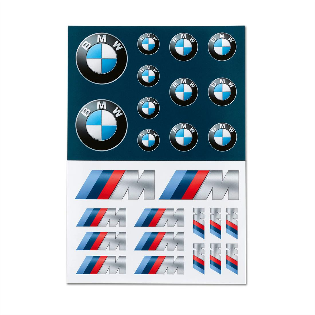 BMW STICKER SET