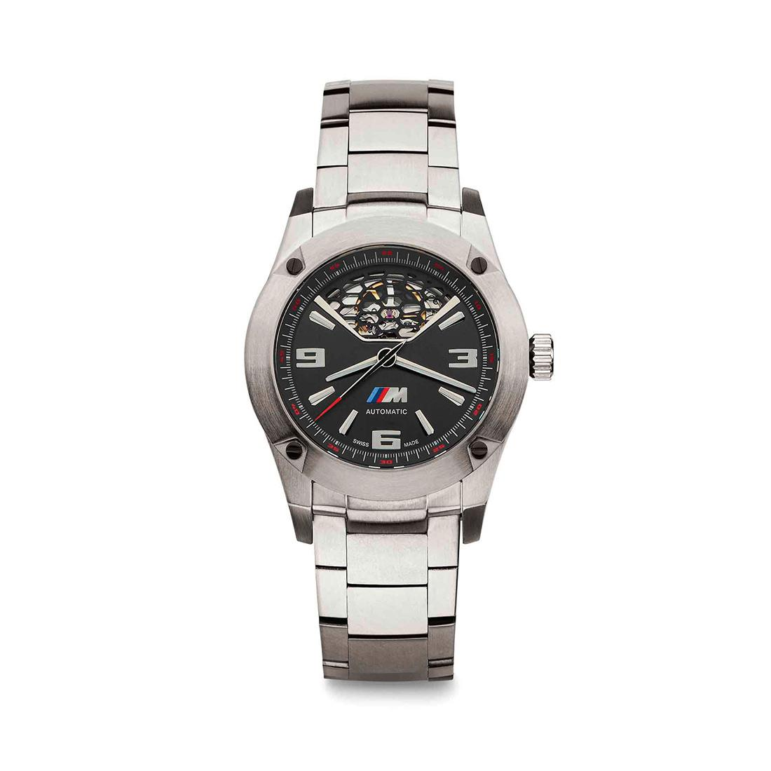 BMW M THREE-HAND AUTOMATIC WATCH