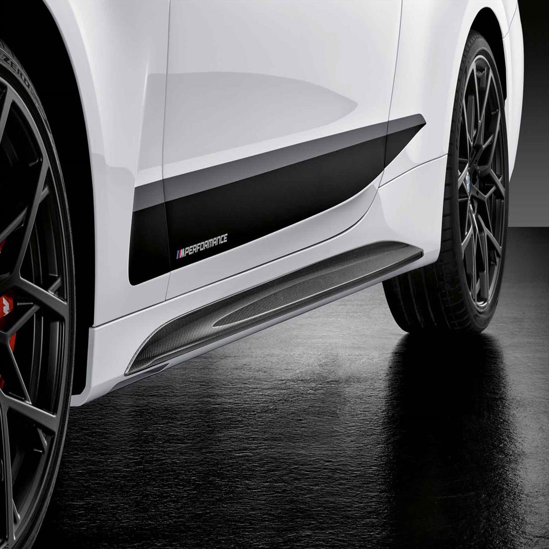M PERFORMANCE CARBON SIDE SKIRT ATTACHMENT