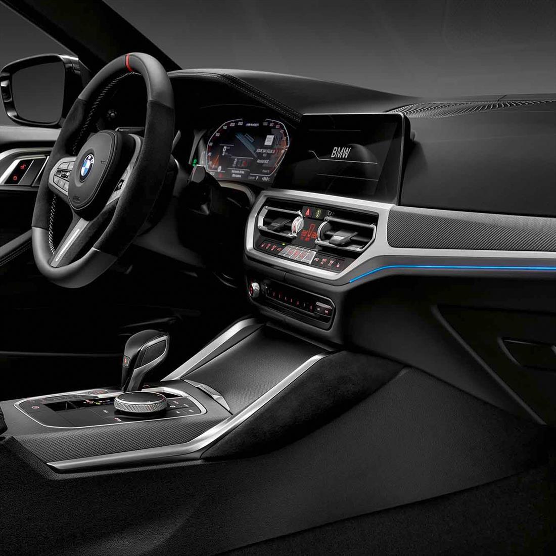 BMW M Performance Interior Trims in Carbon Fiber