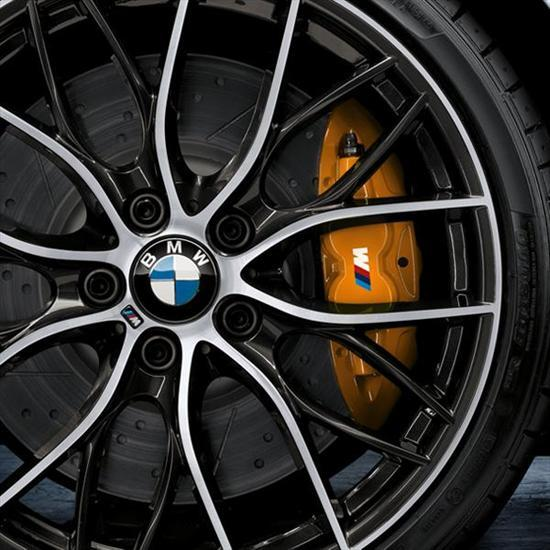 BMW M Performance Brake System Yellow