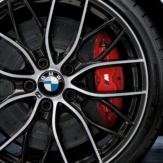 BMW M Performance Brake System Red