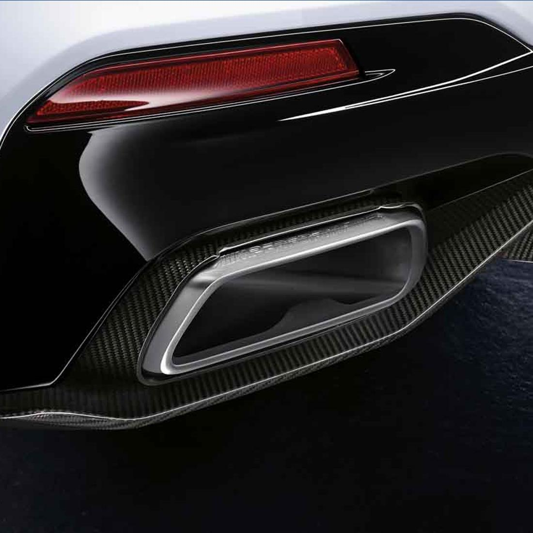 BMW M Performance Tailpipe Finishers - Carbon Fiber