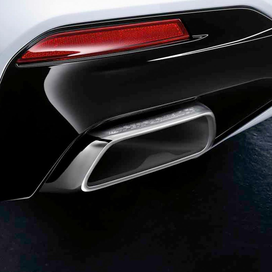 BMW M Performance Tailpipe Finishers - Chrome