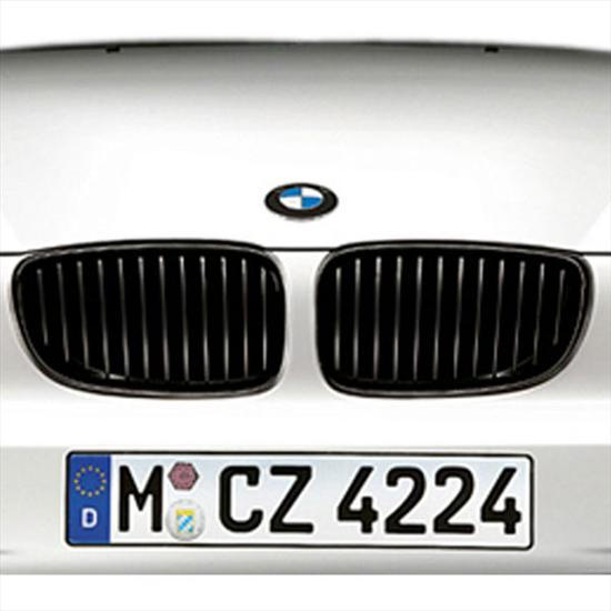 BMW Performance Black Kidney Grille for 3 Series