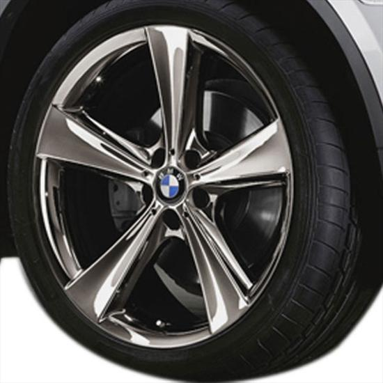BMW Star Spoke 128 - Mid-Night Chrome Rims