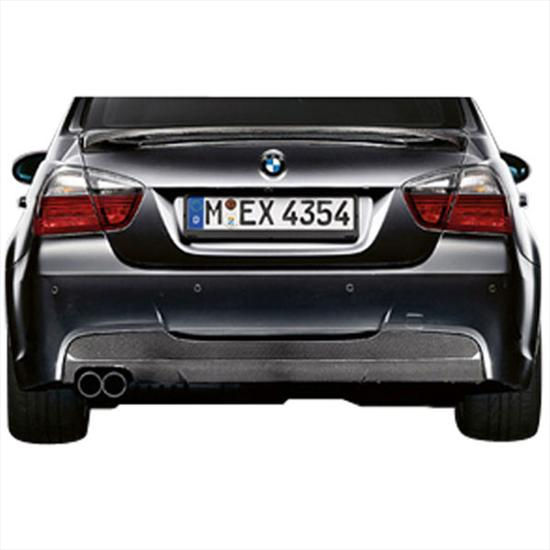 BMW Rear Carbon Diffuser with Aerodynamic M Rear Bumper (For vehicles produced 9/08 on)