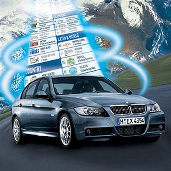 BMW SIRIUS Satellite Radio (Vehicles produced from 03/08 to 08/08)