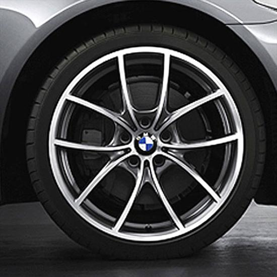 BMW V-Spoke 356-Bicolor Wheel and Tire Set