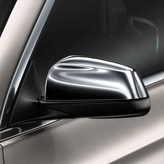 BMW Chrome Mirror Cap Set