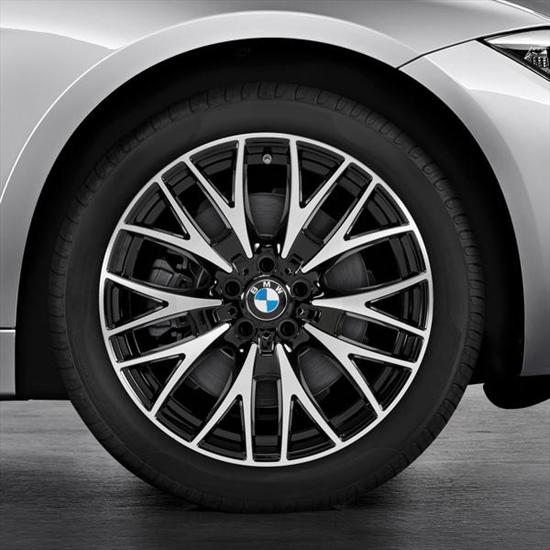 BMW Cross Spoke 404 Wheel and Tire Set
