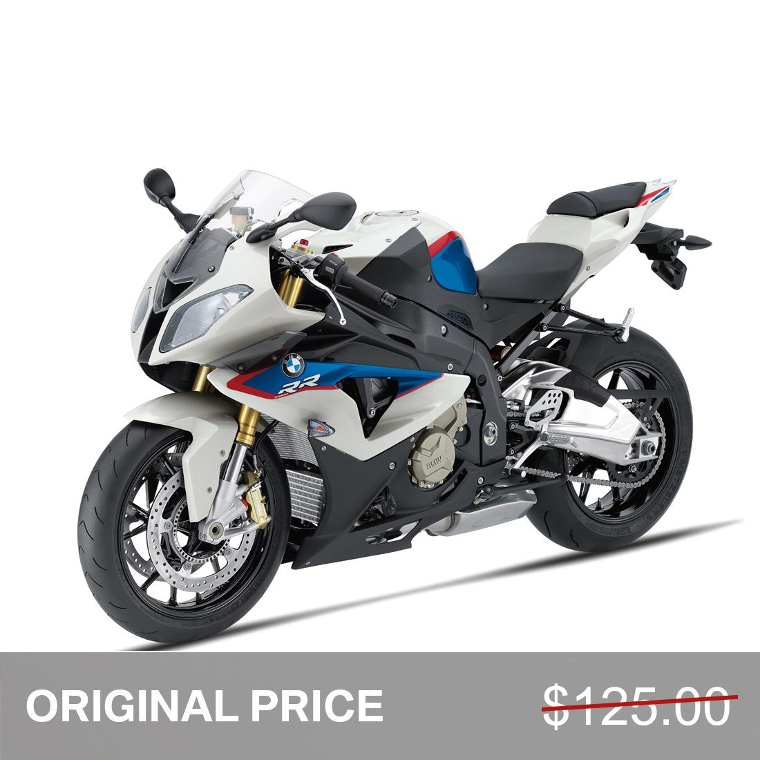 BMW MINIATURE S1000 RR RACE VERSION