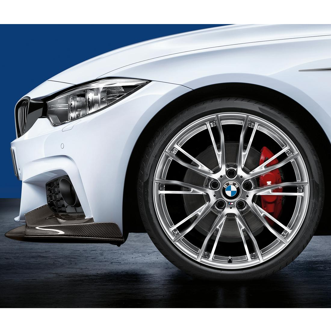BMW 624M Wheel and Tire Set Polished