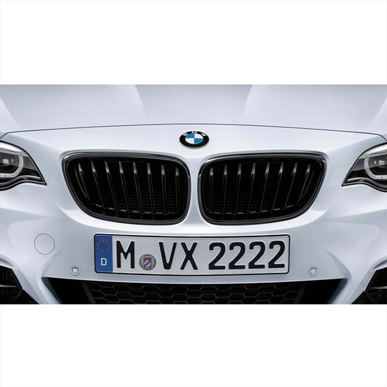 BMW M Performance Black Kidney Grilles for 2 Series