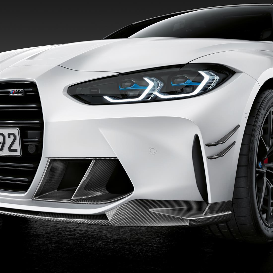 BMW M Performance Front Attachment in Carbon Fiber