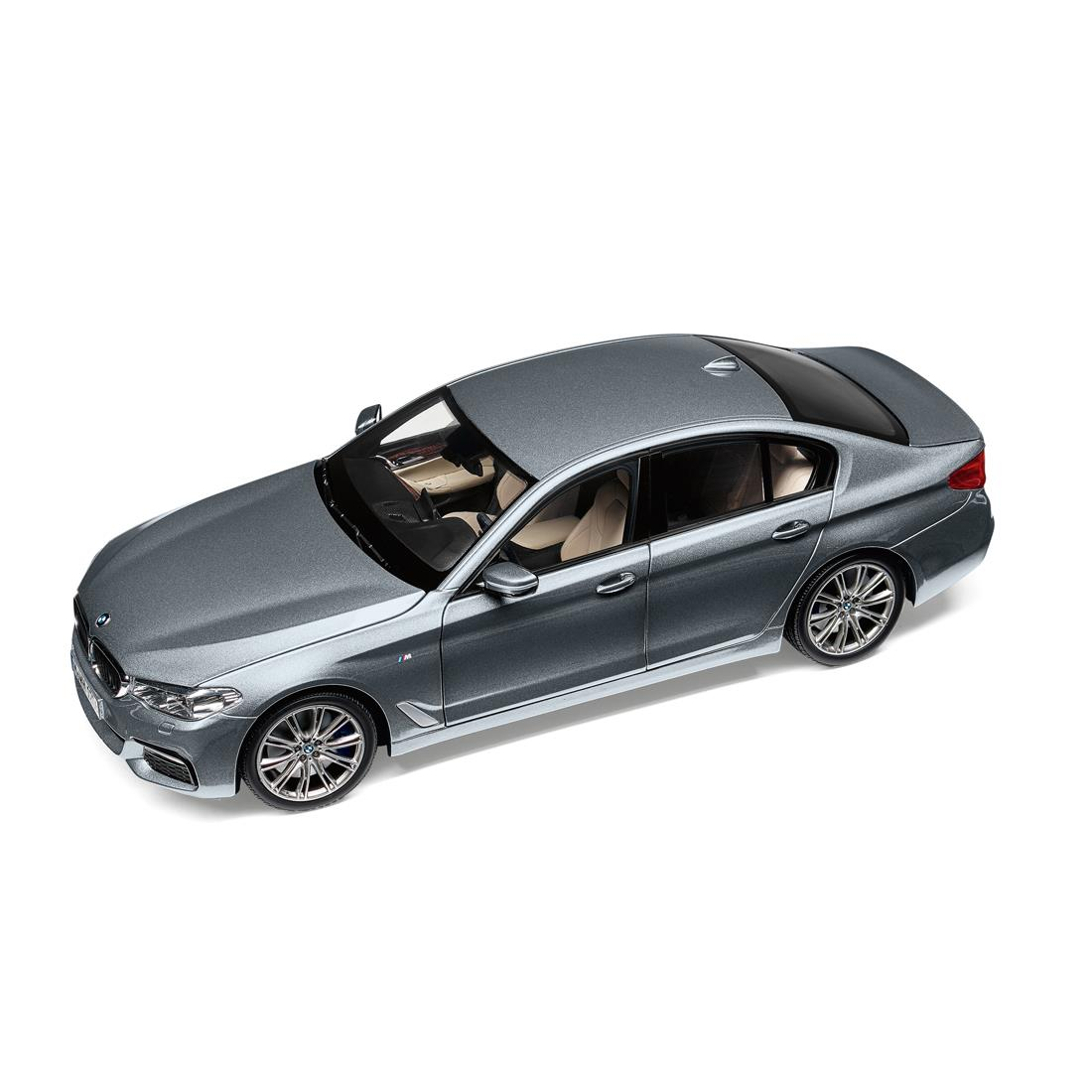BMW MINIATURE BMW 5 SERIES Sophisto Grey (G30) 1:18