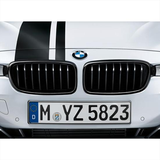 BMW M Performance Black Kidney Grilles for 3 Series GT