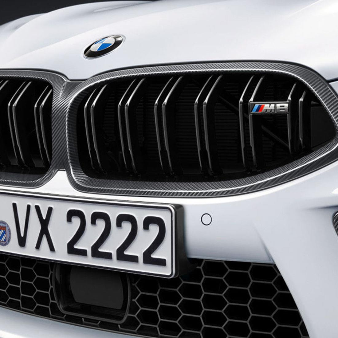 BMW M Performance Kidney Grille - Carbon Fiber