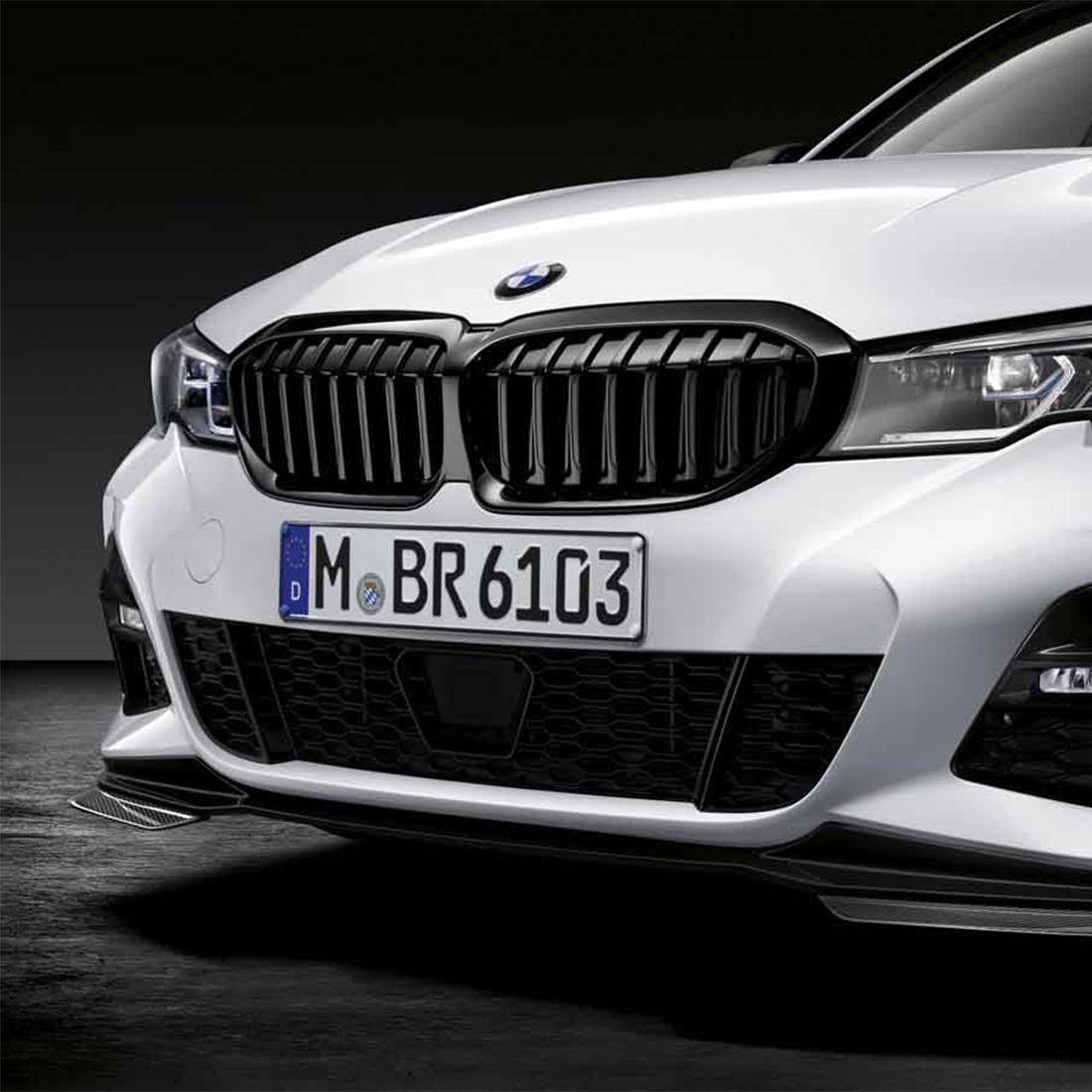 BMW M Performance Black Kidney Grilles