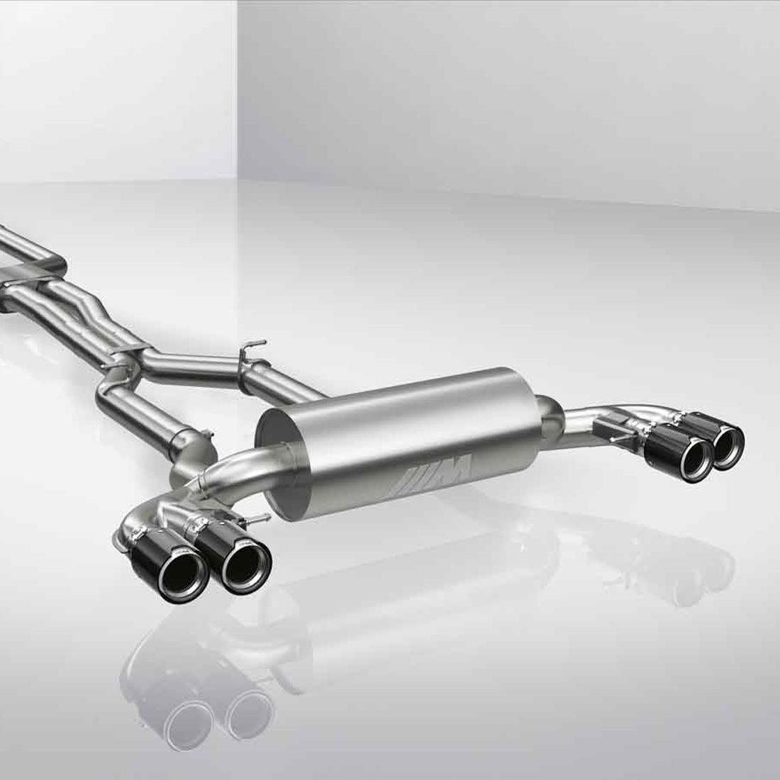 BMW M Performance Exhaust System - Titanium