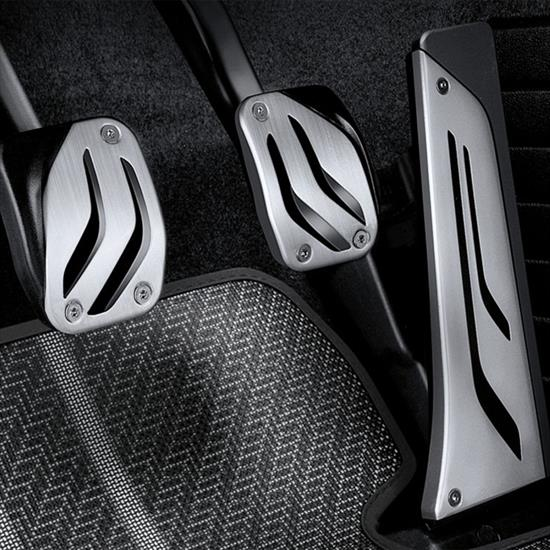 BMW M Performance Stainless Steel Pedal Covers