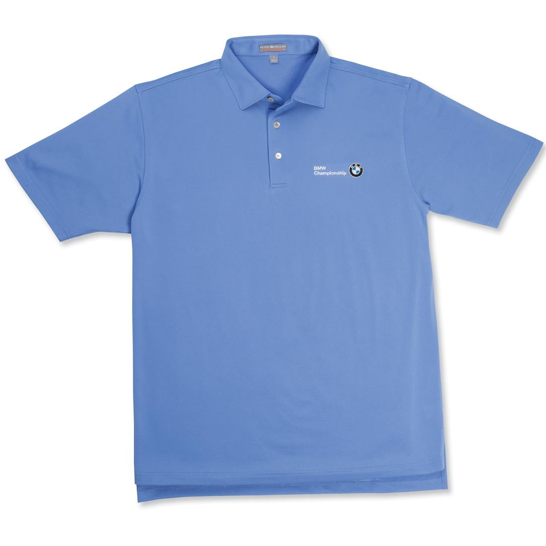BMW Men's Peter Millar Solid Summer Comfort Stretch Shirt