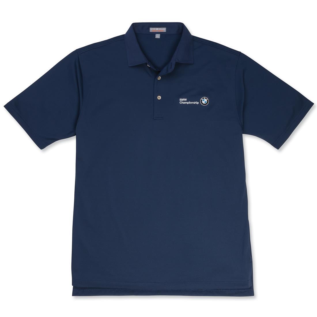 BMW Men's Peter Millar Solid Summer Comfort Stretch Shirt