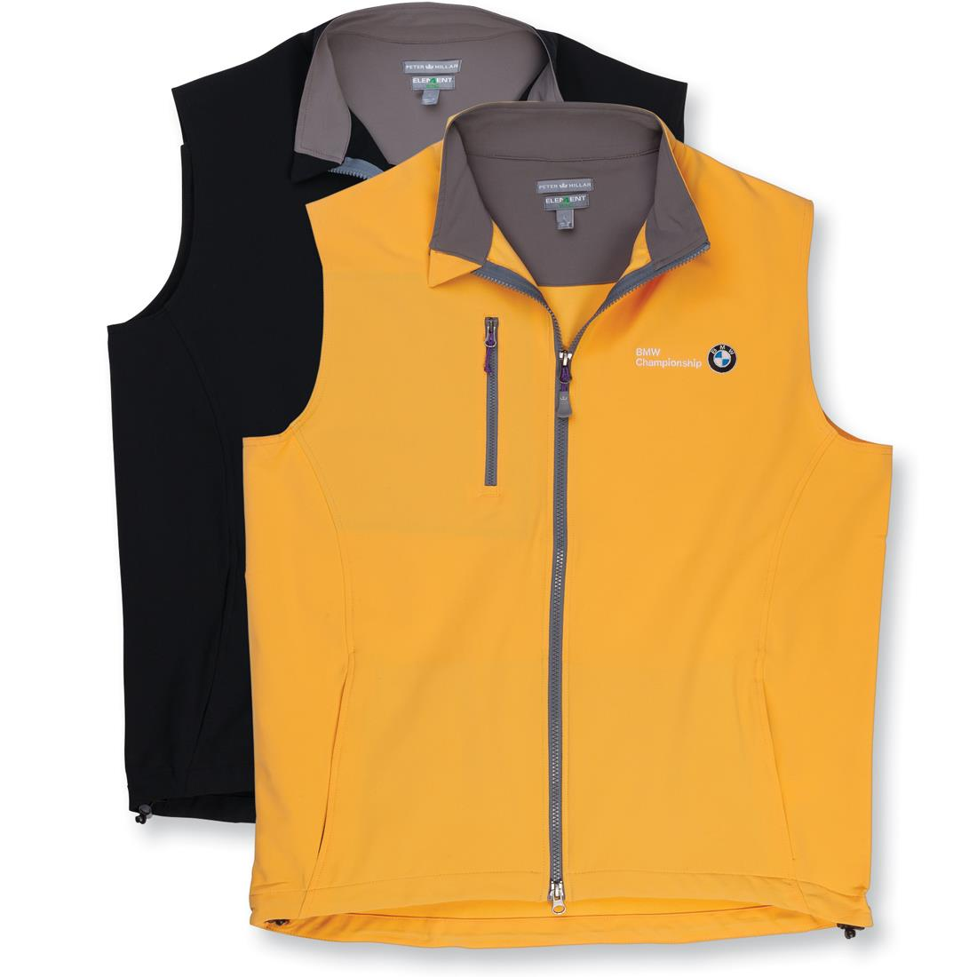 BMW Men's Peter Millar Winnipeg Performance Windblock Vest