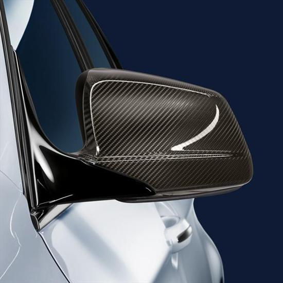 BMW Replacement M Performance Carbon Fiber Mirror Caps