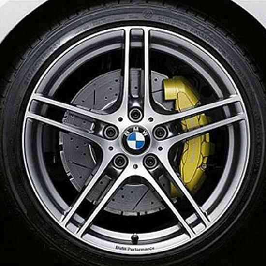 BMW Performance Front Axle Brake System