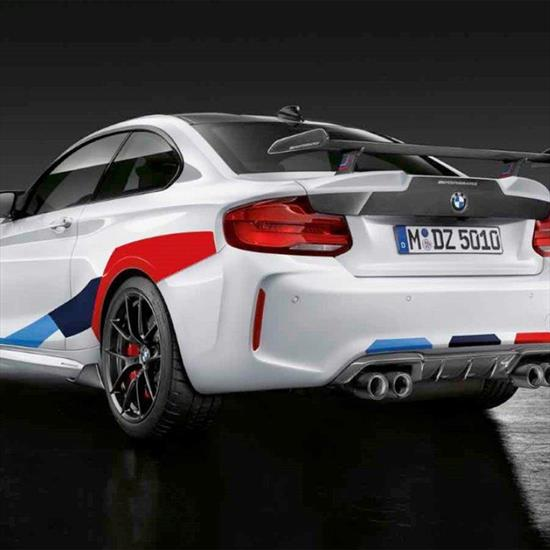 BMW M Performance Decal Kit