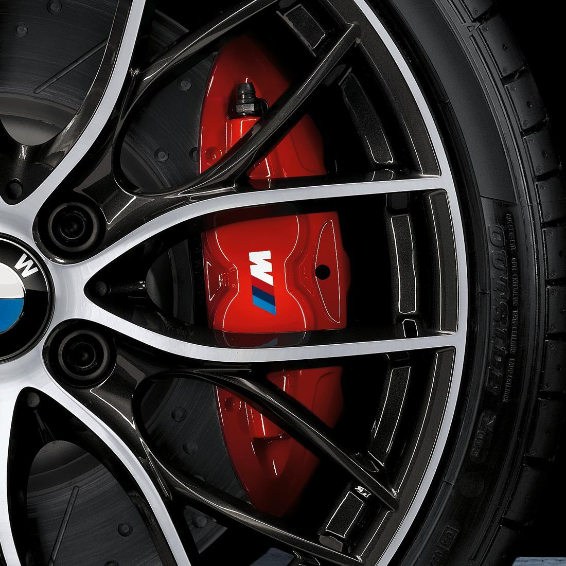 Shopbmwusa Com Bmw M Performance Brake System Red