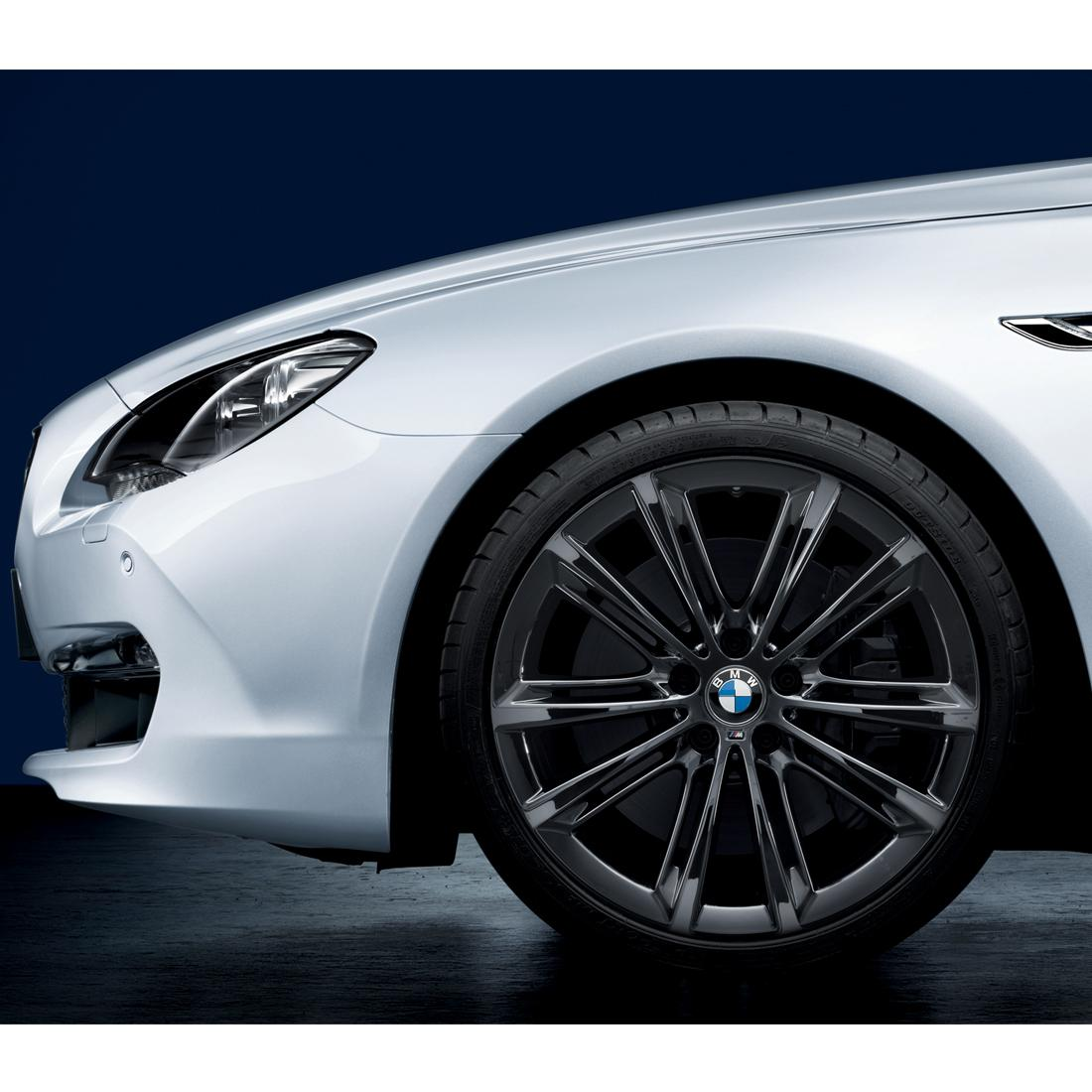 "BMW M Performance Liquid Black V-Spoke 464M, 20"" Individual Rims"