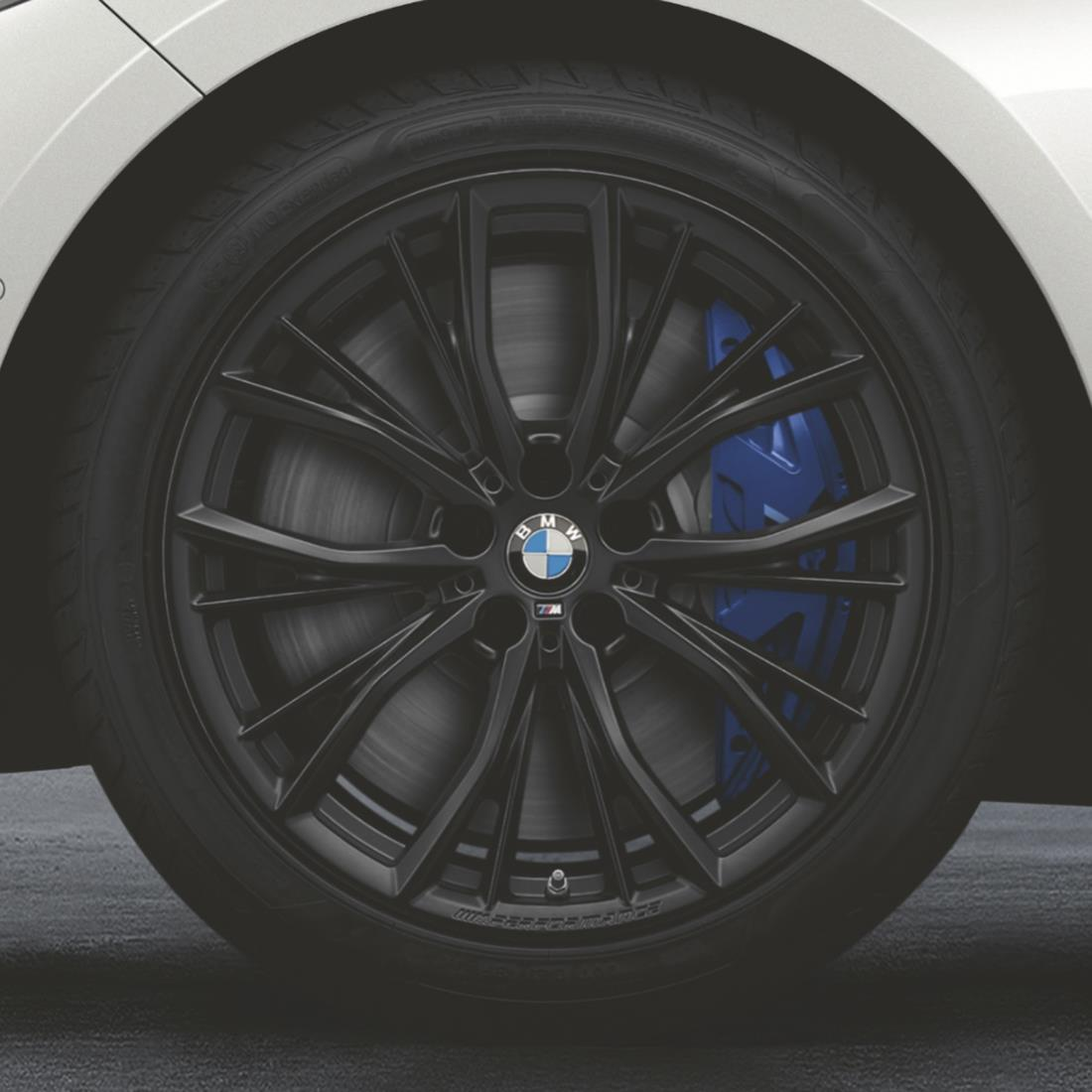 BMW Winter Complete Wheel Set, Style 786M in Black, M Performance