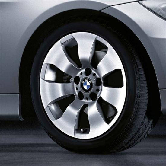 "BMW 17"" Style 158 Cold Weather Complete Wheel and Tire Set"