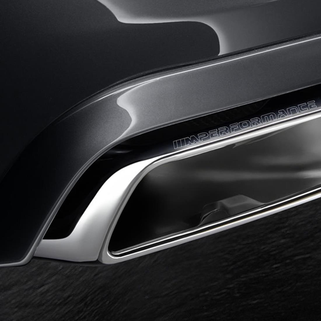 BMW M Performance Cut-out Trims Rear Bumper