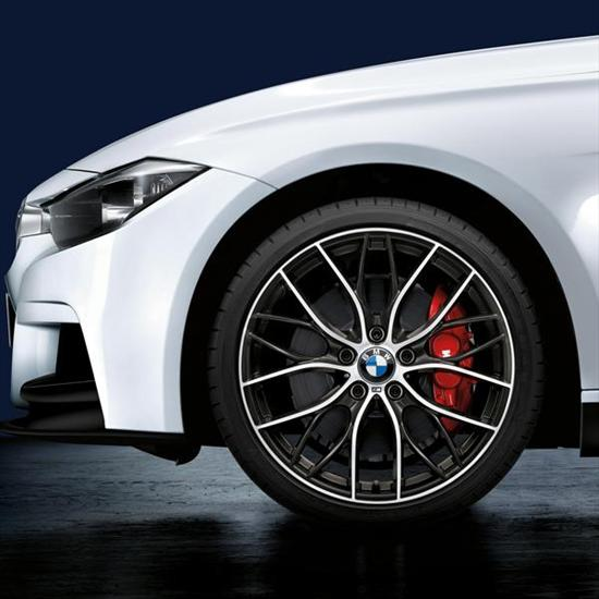 BMW M Performance Double-Spoke 405M, 20 Inch Lightweight Forged Wheels - Complete Set
