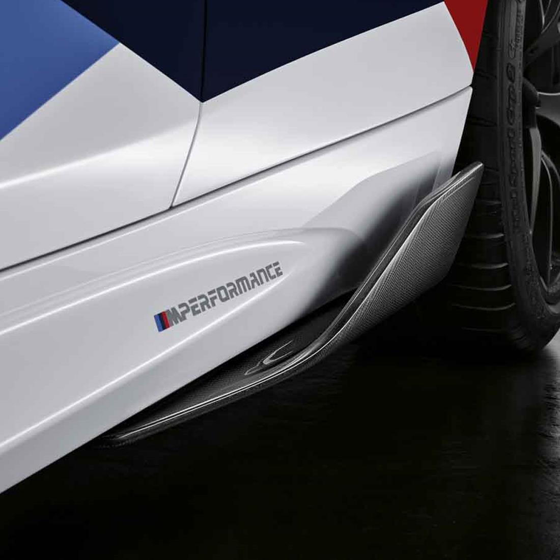 BMW M Performance Carbon Fiber Side Skirt Winglets