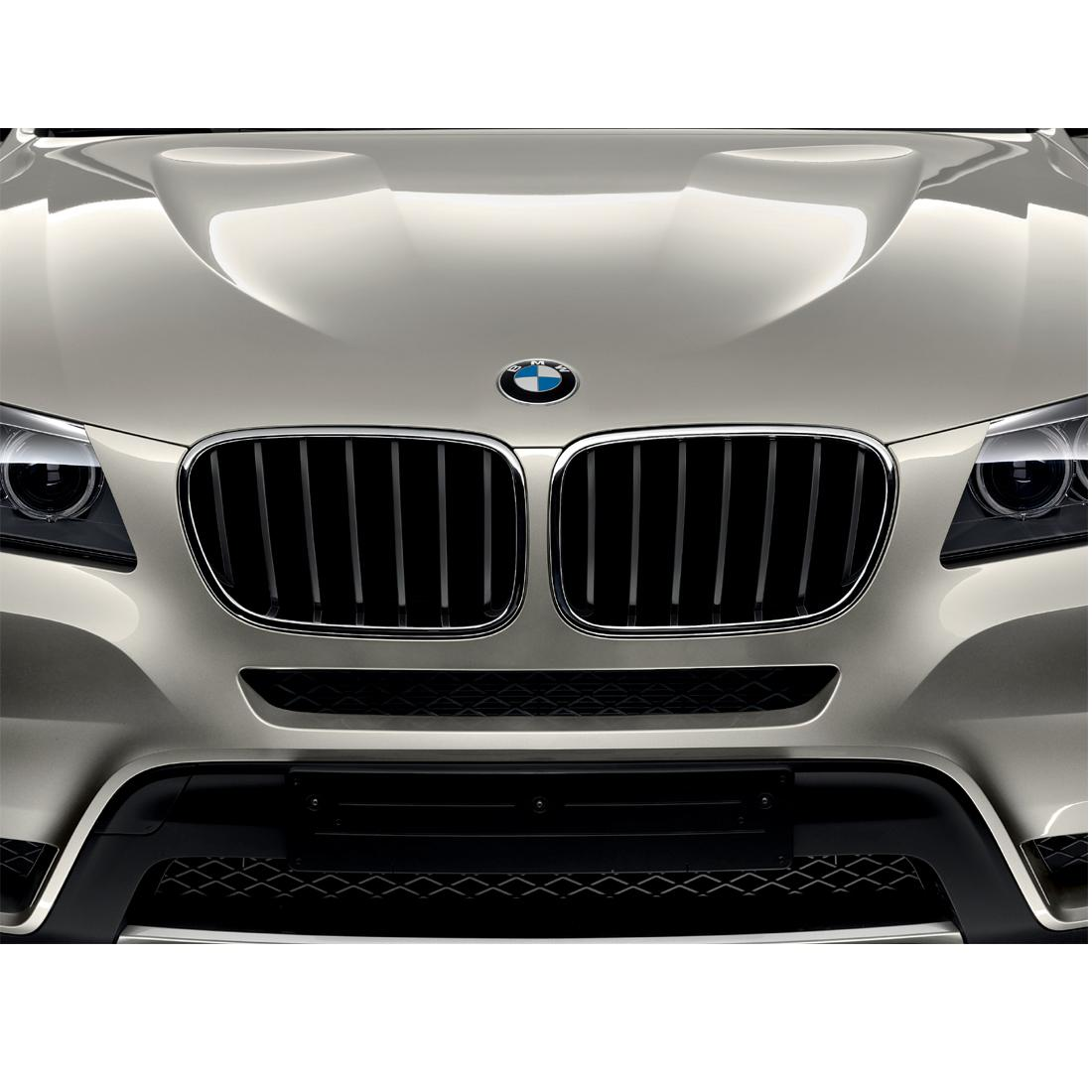 Shopbmwusa Com Bmw Performance Black Kidney Grille For X3