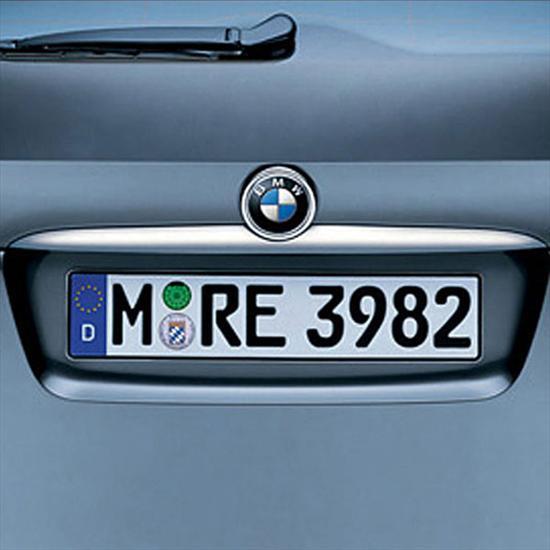BMW Titanium Tailgate Handle