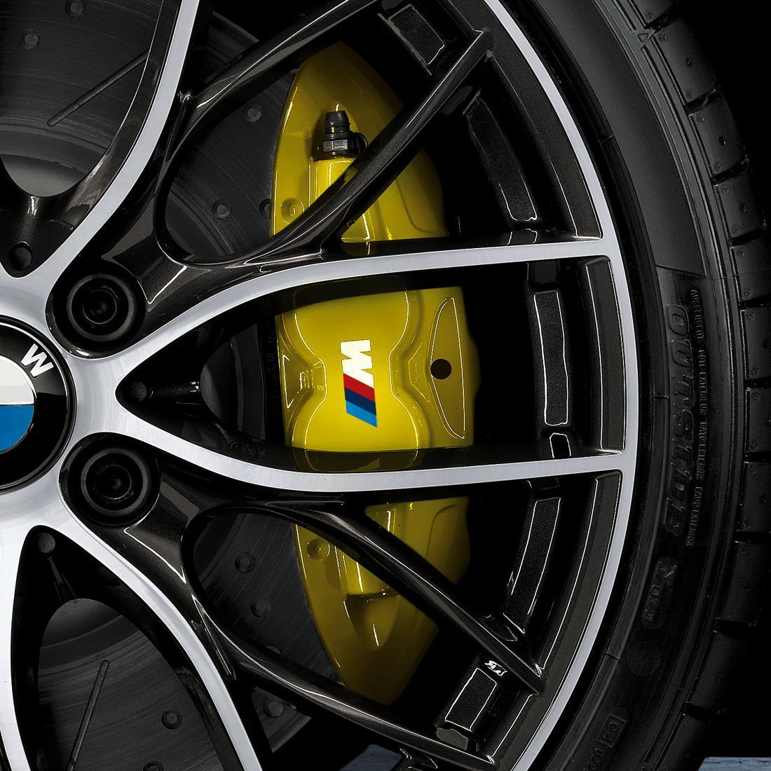 BMW M Performance Brake System - Yellow