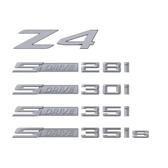 BMW Lettering Badge Replacement - Z4
