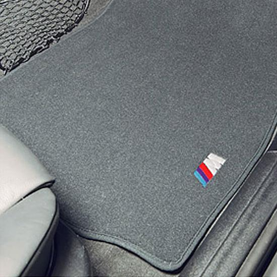 BMW M Embroidered Floor Mats with Heel Pad